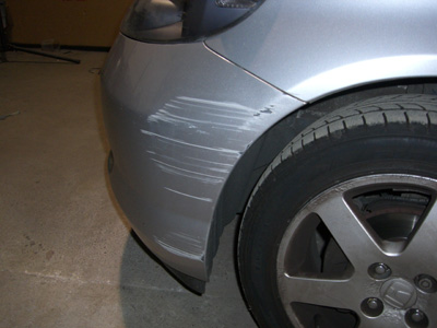 Remove Paint Scuff From Car Bumper